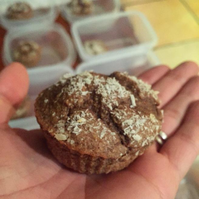 Muffin de avellana