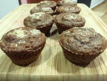 Muffins de avellana