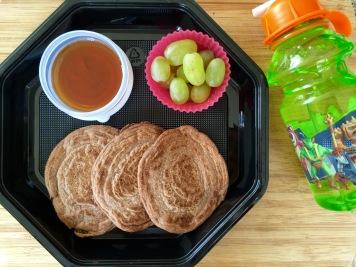 Pancakes y Uvas